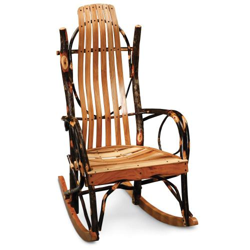 Simply Amish - Hickory Hollow Bentwood Rocker - Express