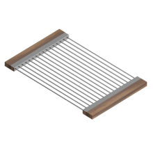 Drying Rack 215208 - Stainless steel sink accessory , Walnut