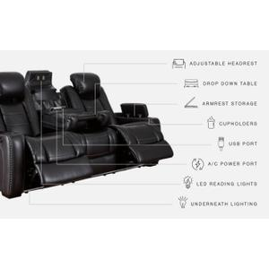 Signature Design By Ashley - Party Time Power Reclining Sofa