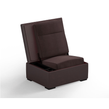 JumpSeat Ottoman, Redrock Cover / Root Beer Seat