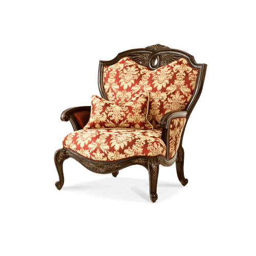 Wood Trim Chair and a 1/2 - Opt1