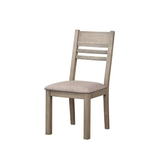 Cambridge Upholstered Seat Dining Chair, Gray Brown 1126-315-s