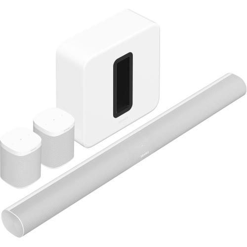 Gallery - White- Surround Set