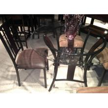 See Details - Sigma Metal / Glass 5 Pc Dinette