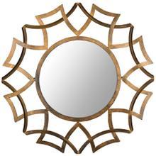 See Details - Inca Sunburst Mirror - Antique Gold