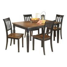 Owingsville 5PC Dining Room Set (D580)