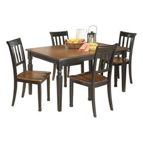 Owingsville Dining Table and 4 Chairs