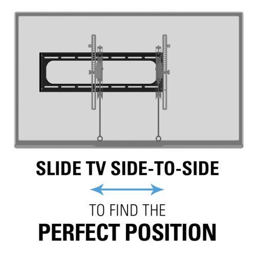 """Advanced Tilt Premium TV Wall Mount for 46"""" - 90"""" TVs"""