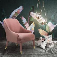 View Product - Orchid Velvet Chair