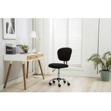 1135 BLACK Mesh Armless Office Chair