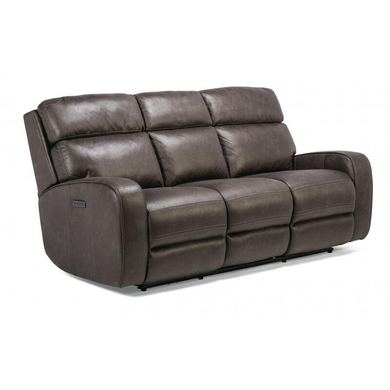 Tomkins Park Power Reclining Sofa with Power Headrests