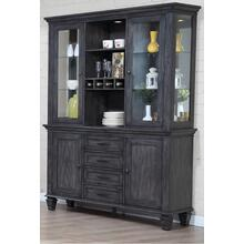 China Cabinet - Shades of Gray
