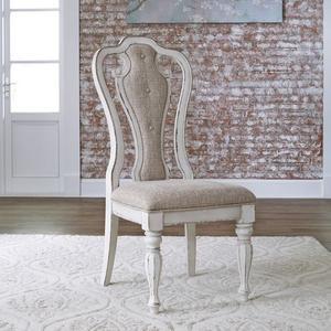 Liberty Furniture Industries - Splat Back Uph Side Chair (RTA)