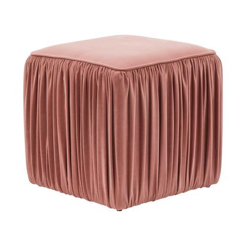 Tov Furniture - Morgan Mauve Pleated Ottoman