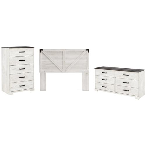 Ashley - Queen Panel Headboard With Dresser and Chest