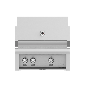 "30"" Hestan Outdoor Built-In Grill - G_BR Series - Steeletto"
