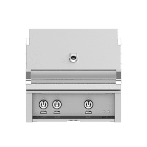 "Hestan 30"" Built-In Grill with 2 Infrared Sear Burners & Rotisserie NG"