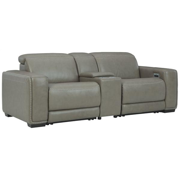 See Details - Correze 3-piece Power Reclining Sectional