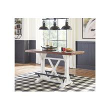 Valebeck RECT Dining Room Counter Table Multi
