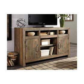 See Details - Sommerford LG TV Stand Brown