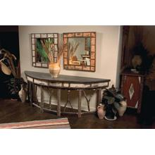 261 Birch Bark Console Table
