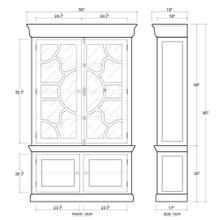 See Details - Farlow Display Cabinet
