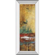 """Villarreal Santos I"" By Abulia Mirror Framed Print Wall Art"