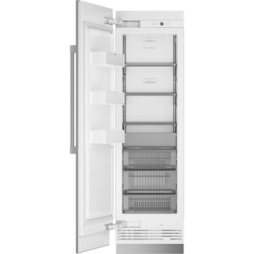 "Monogram 24"" Smart Integrated Column Freezer"