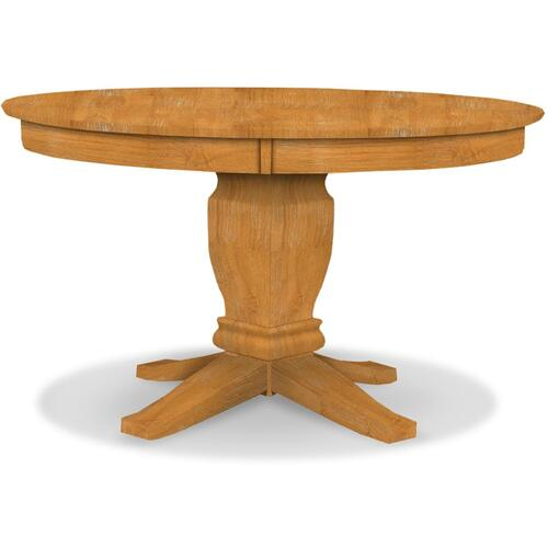 Round Pedestal Table (top only) / Java Pedestal