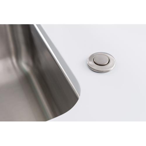 Moen satin nickel disposal air switch button