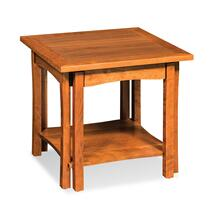 Sheridan End Table with Shelf, Sheridan End Table with Shelf, 16x24