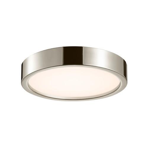 "Sonneman - A Way of Light - Puck Slim LED Surface Mount [Size=15"", Color/Finish=Polished Nickel]"