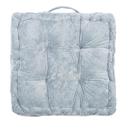 Belia Floor Pillow - Light Grey