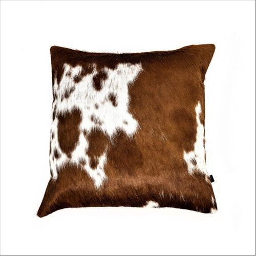 "18"" X 18"" Cowhide Pillow"