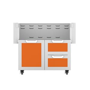 """36"""" Hestan Outdoor Tower Cart with Door/Drawer Combo - GCR Series - Citra"""