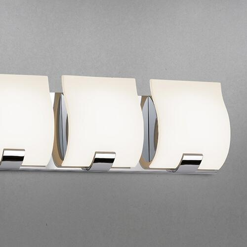 Sonneman - A Way of Light - Aquo LED Bath Bar [Size=3-Light, Color/Finish=Satin Nickel]