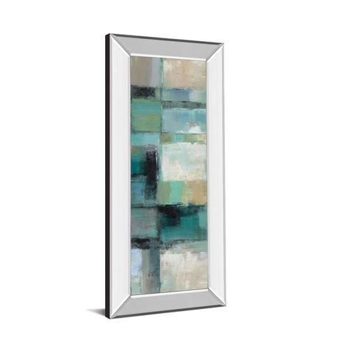 "Classy Art - ""Island Panel 2"" By Silvia Vassileva Mirror Framed Print Wall Art"