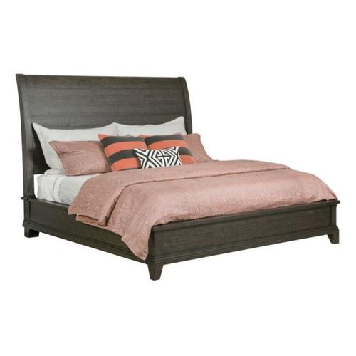 Eastburn Sleigh Queen Bed - Complete
