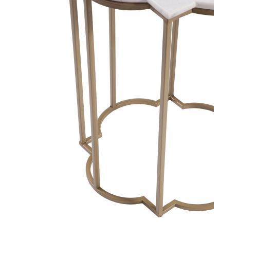 Quatrefoil Accent Table