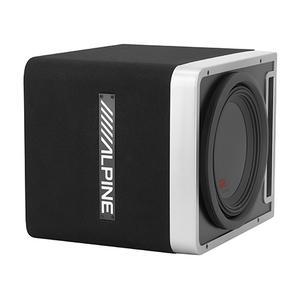 "Gallery - Single 12"" Alpine Halo R-Series Preloaded Subwoofer Enclosure with ProLink """