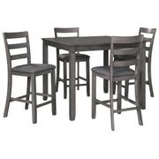 Bridson Counter Height Dining Room Table and Bar Stools (set of 5) Product Image