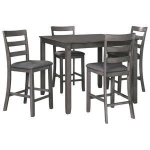 Ashley FurnitureSIGNATURE DESIGN BY ASHLEYBridson Counter Height Dining Room Table and Bar Stools (set of 5)