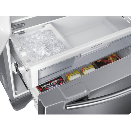 18 cu. ft. Counter Depth French Door Refrigerator in Stainless Steel