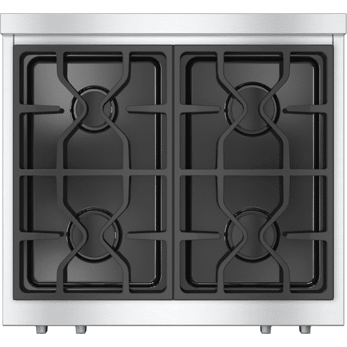 KMR 1124 LP - RangeTop with 4 burners for professional applications