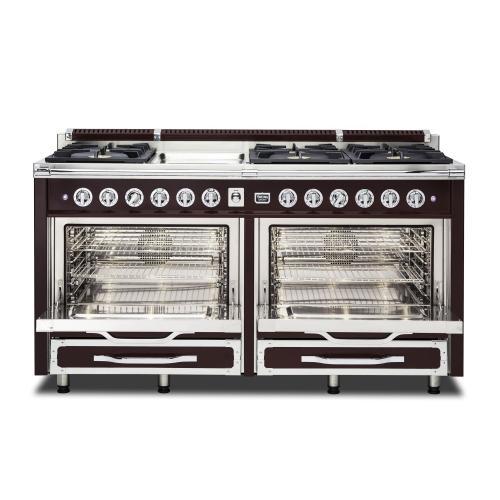 "66""W. Tuscany Range - TVDR660 Bordeaux finish has been discontinued. See dealer for stock."
