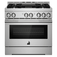 "36"" RISE™ Gas Professional-Style Range with Infrared Grill"
