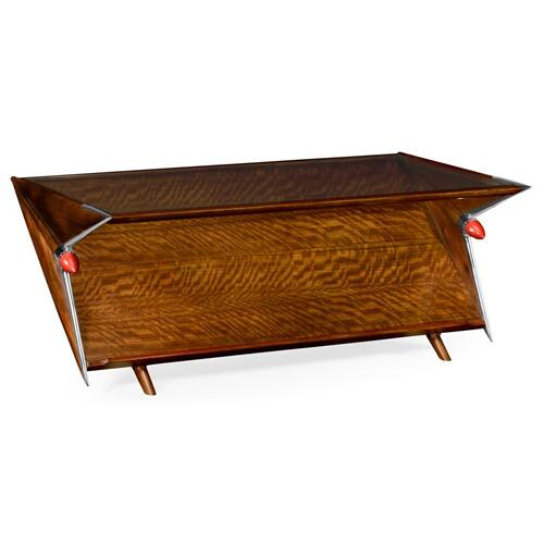 50's Americana Tailfin coffee table