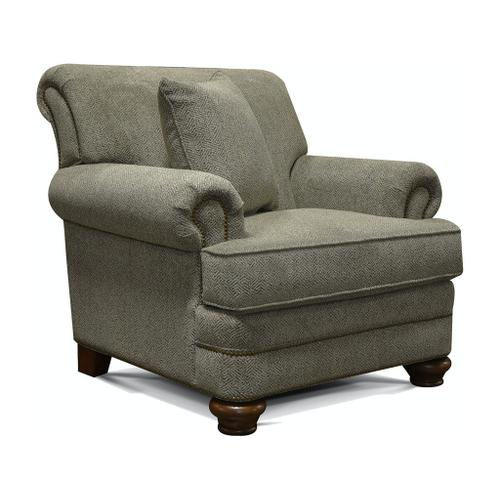 England Furniture - 5Q04N Reed Chair with Nails