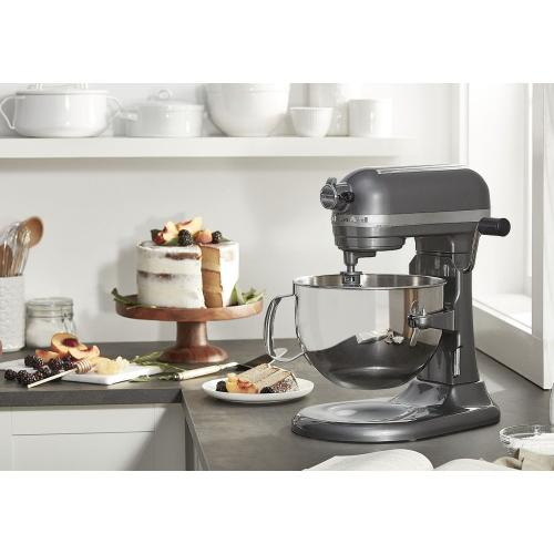 Pro 600™ Series 6 Quart Bowl-Lift Stand Mixer - Dark Pewter