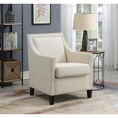 Janelle Accent Chair, Beige U3671-05-09a